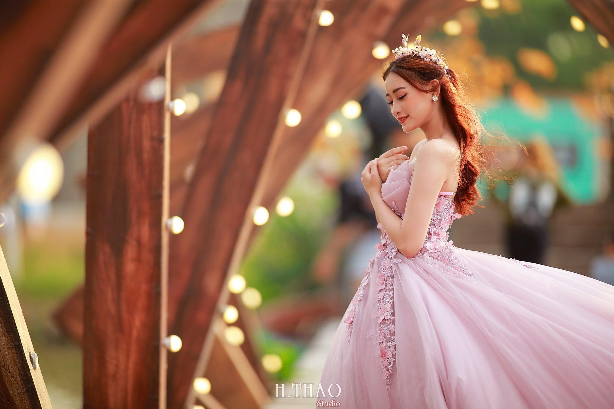 Anh cuoi 25 - Bộ ảnh cưới cô dâu đơn tuyệt đẹp tại phim trường paris- HThao Studio