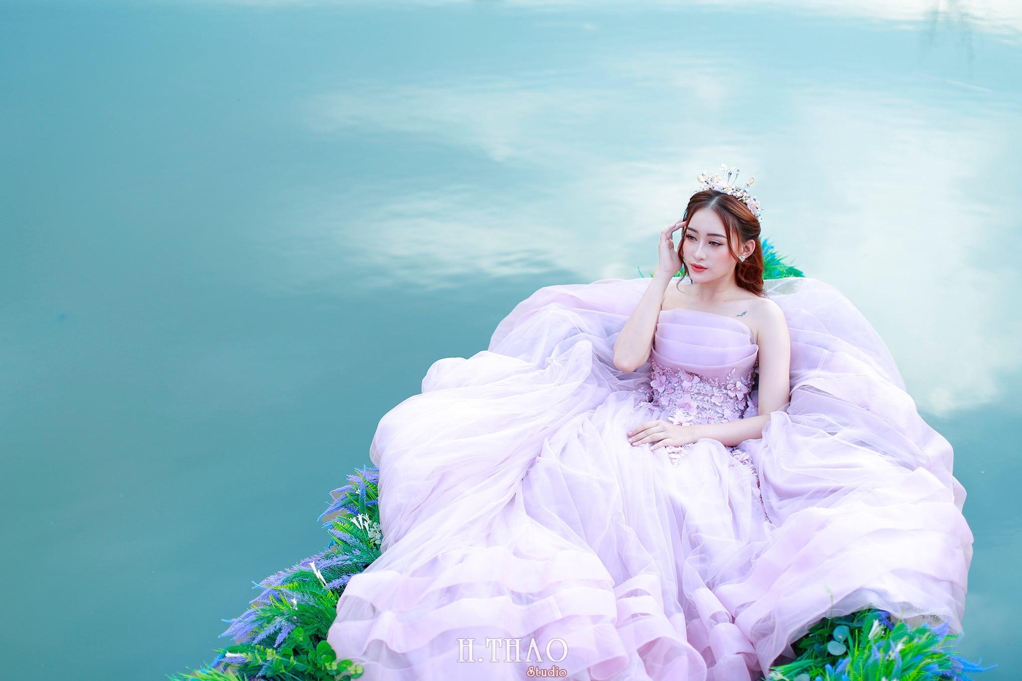 Anh cuoi 28 - Bộ ảnh cưới cô dâu đơn tuyệt đẹp tại phim trường paris- HThao Studio