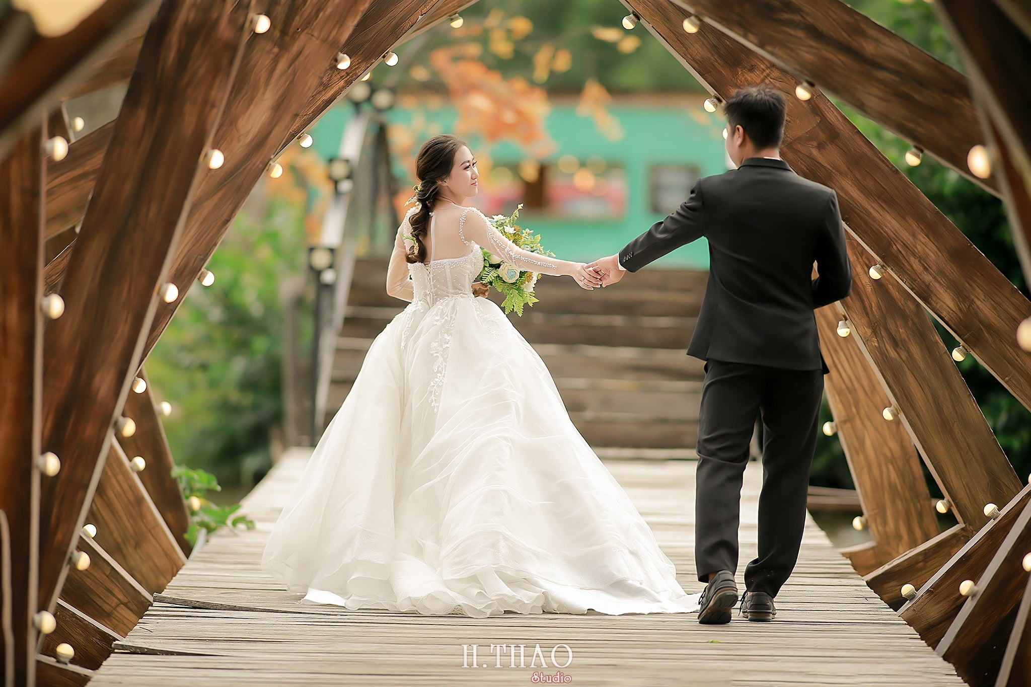 Anh cuoi 33 - Địa điểm chụp ảnh cưới đẹp ở Tp. HCM - HThao Studio