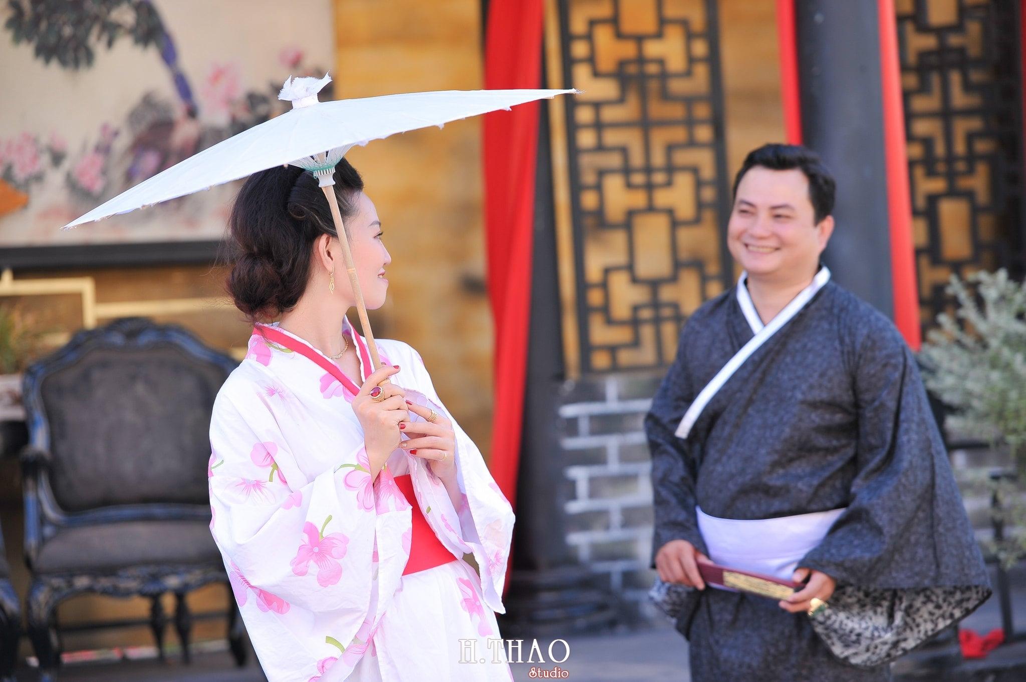 ảnh couple chụp với kimono