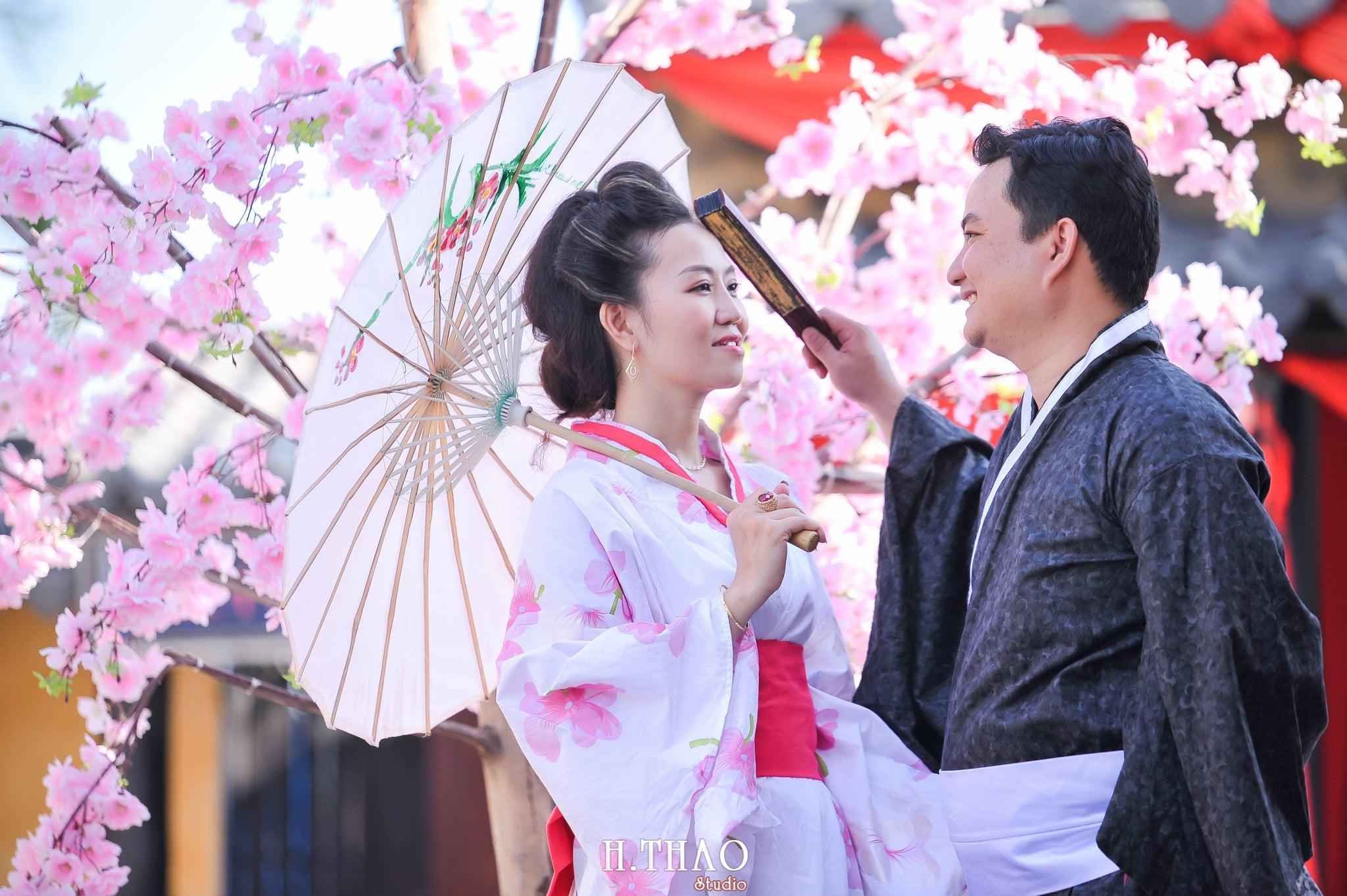 Anh chup voi Kimono 7 - Bộ ảnh couple chụp với Kimono theo phong cách Nhật Bản