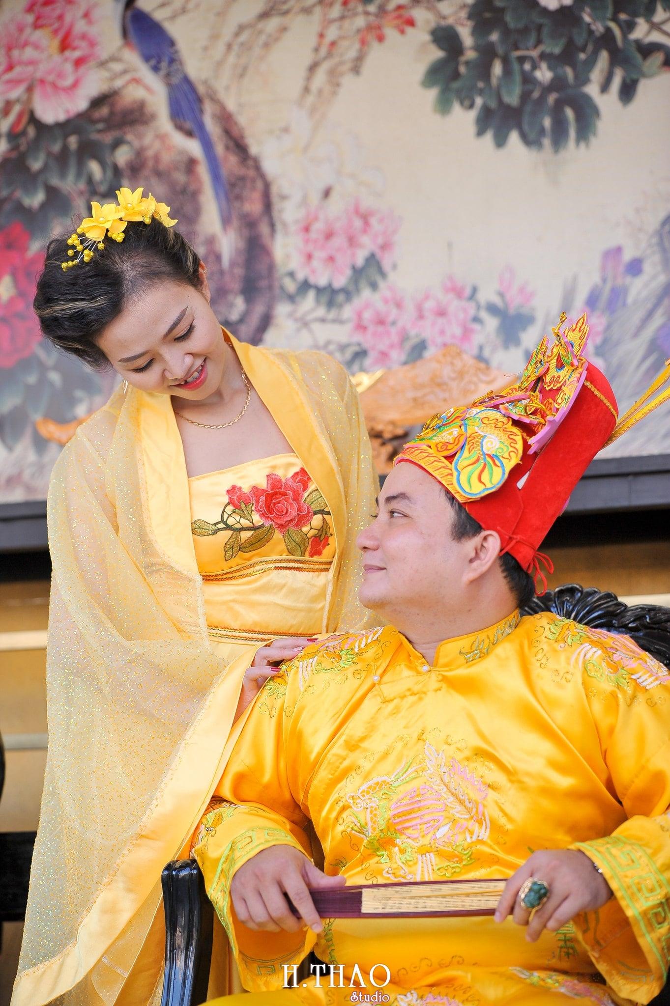 Anh co trang vua va hoang hau 4 - Bộ ảnh couple chụp theo phong cách cổ trang Vua - Hoàng Hậu