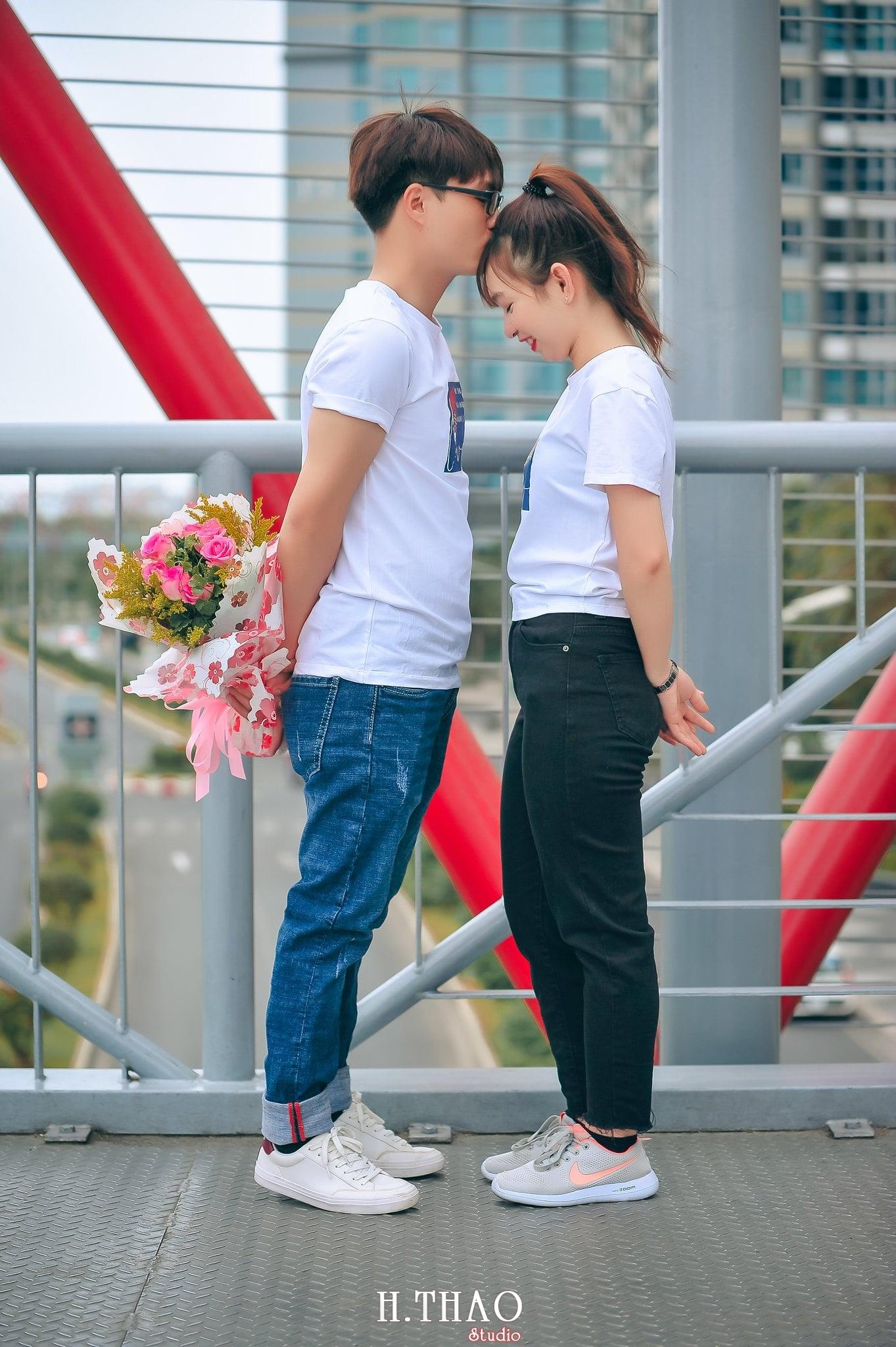 Anh couple sieu de thuong 10 - Chụp ảnh Couple dễ thương tại thành phố Hồ Chí Minh