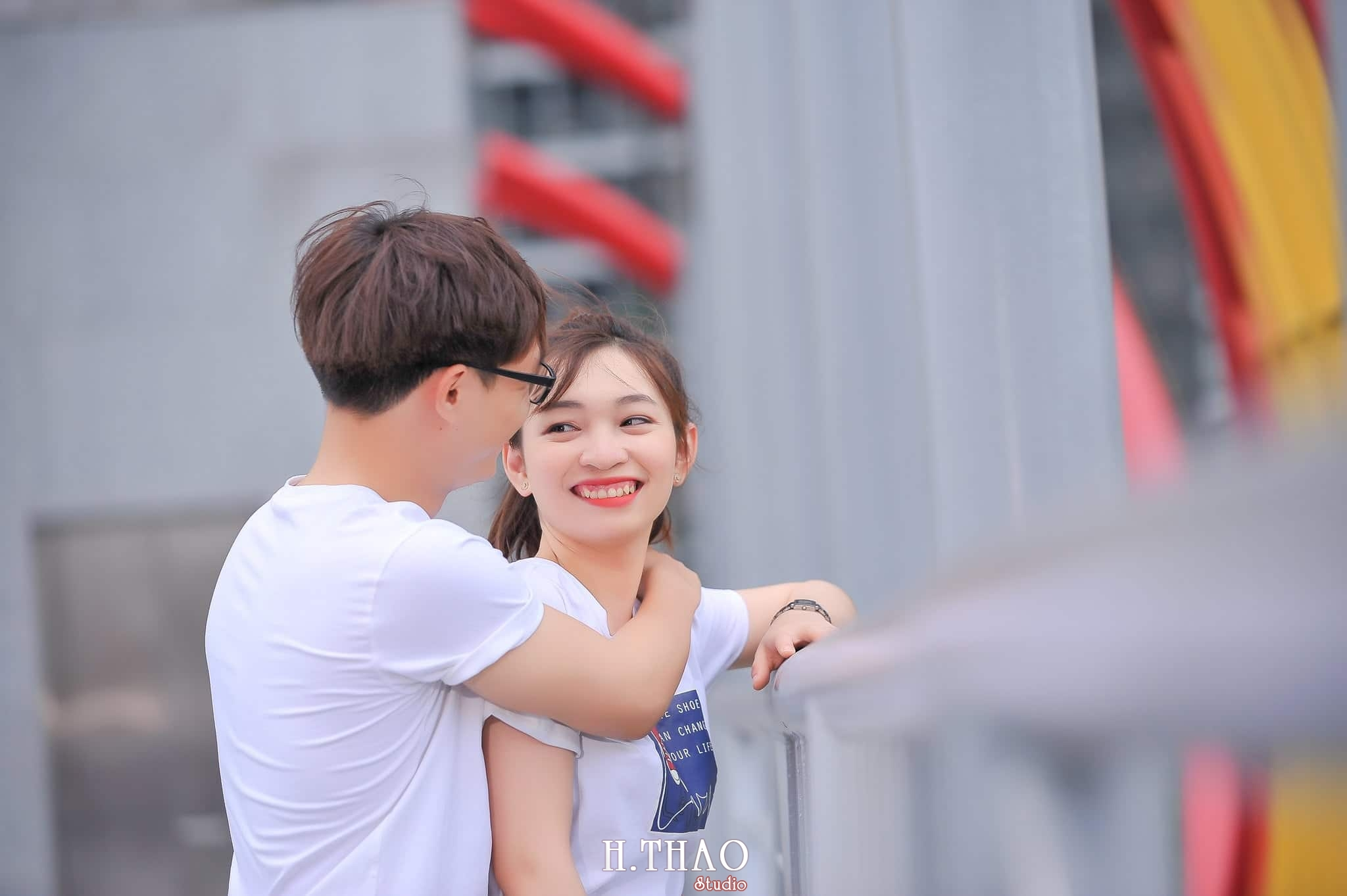 Anh couple sieu de thuong 9 - Chụp ảnh Couple dễ thương tại thành phố Hồ Chí Minh