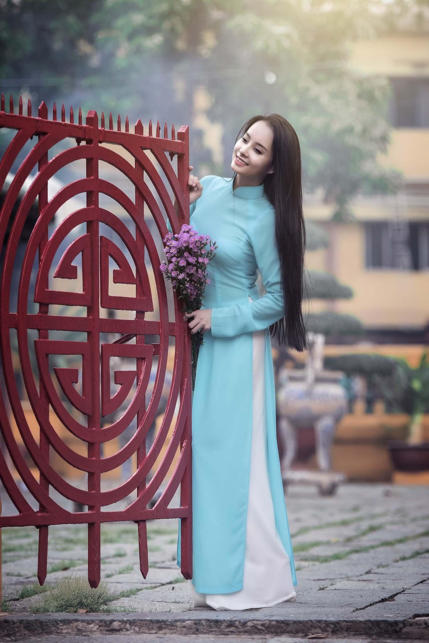 ao dai lang ong ba chieu - Địa điểm chụp ảnh áo dài đẹp ở Thành phố Hồ Chí Minh