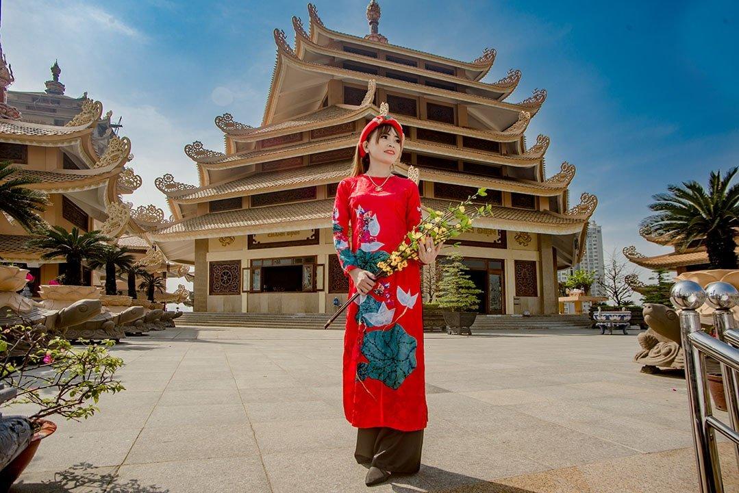 phap vien minh quang dang 1 min - Địa điểm chụp ảnh áo dài đẹp ở Thành phố Hồ Chí Minh