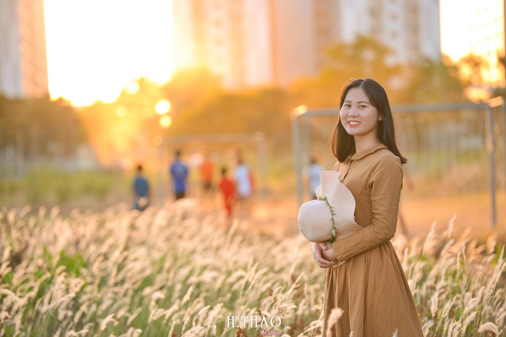 Co lau quan 9 5 min - Góc ảnh cỏ lau quận 2 tuyệt đẹp với nắng chiều - HThao Studio