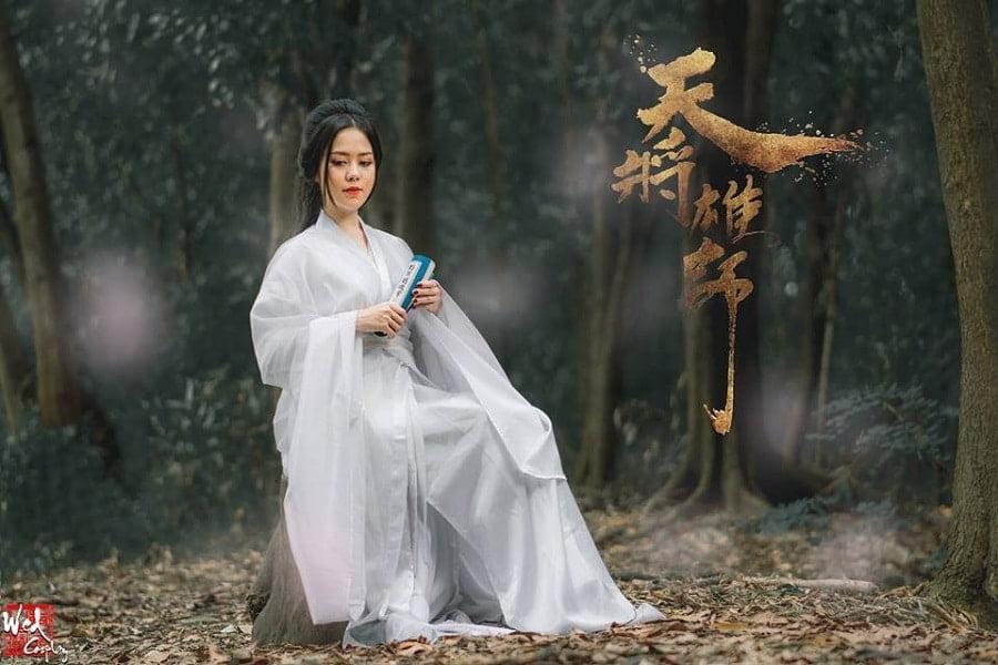 RUNG CHAY QUAN 2 - Studio chụp ảnh Cổ trang trung quốc đẹp độc lạ ở Tp.HCM