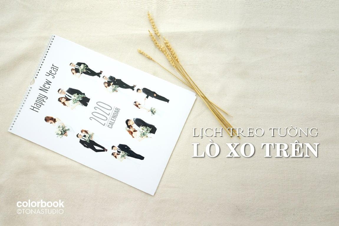Lich treo tuong lo xo tren 1 min - Sản phẩm ảnh treo tường, ảnh để bàn, ảnh album từ HThao Studio