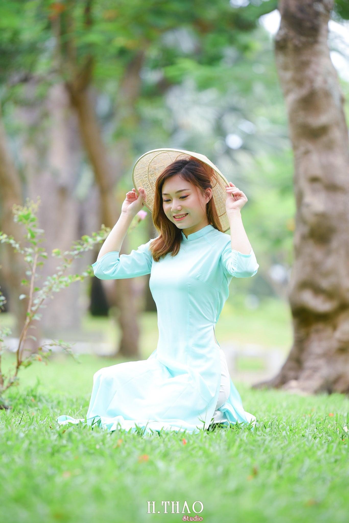 áo dài xanh