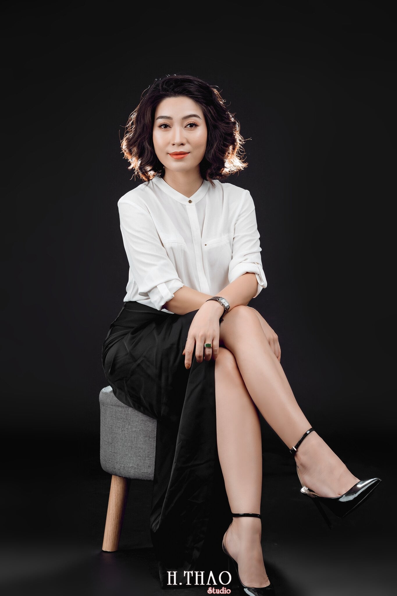 Doanh nhan nu 17 - Chụp ảnh nữ doanh nhân Lan Nguyễn tại HThao Studio – Tp.HCM