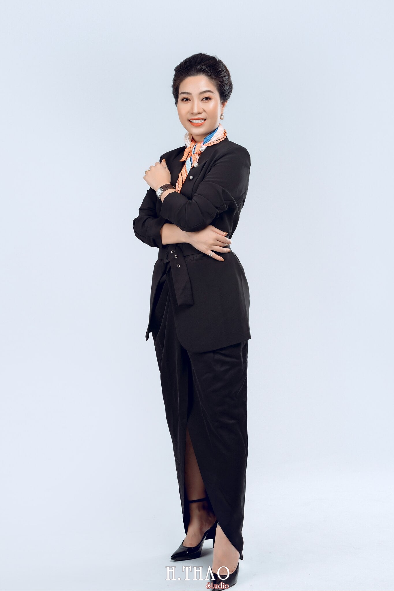 Doanh nhan nu 3 - Chụp ảnh nữ doanh nhân Lan Nguyễn tại HThao Studio – Tp.HCM