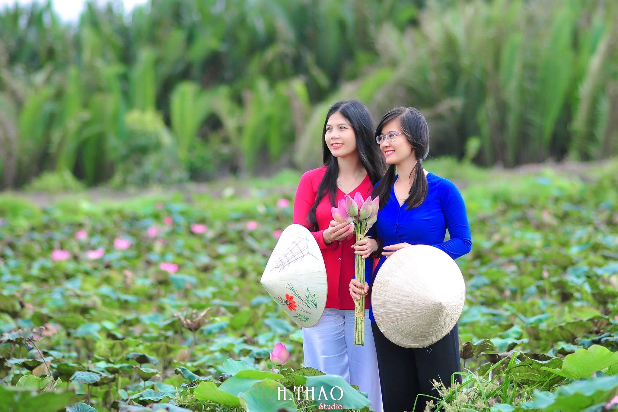 Hoa sen 1 - Tháng 6, chụp hình với hoa sen tại Tam đa quận 9 – Tp.HCM