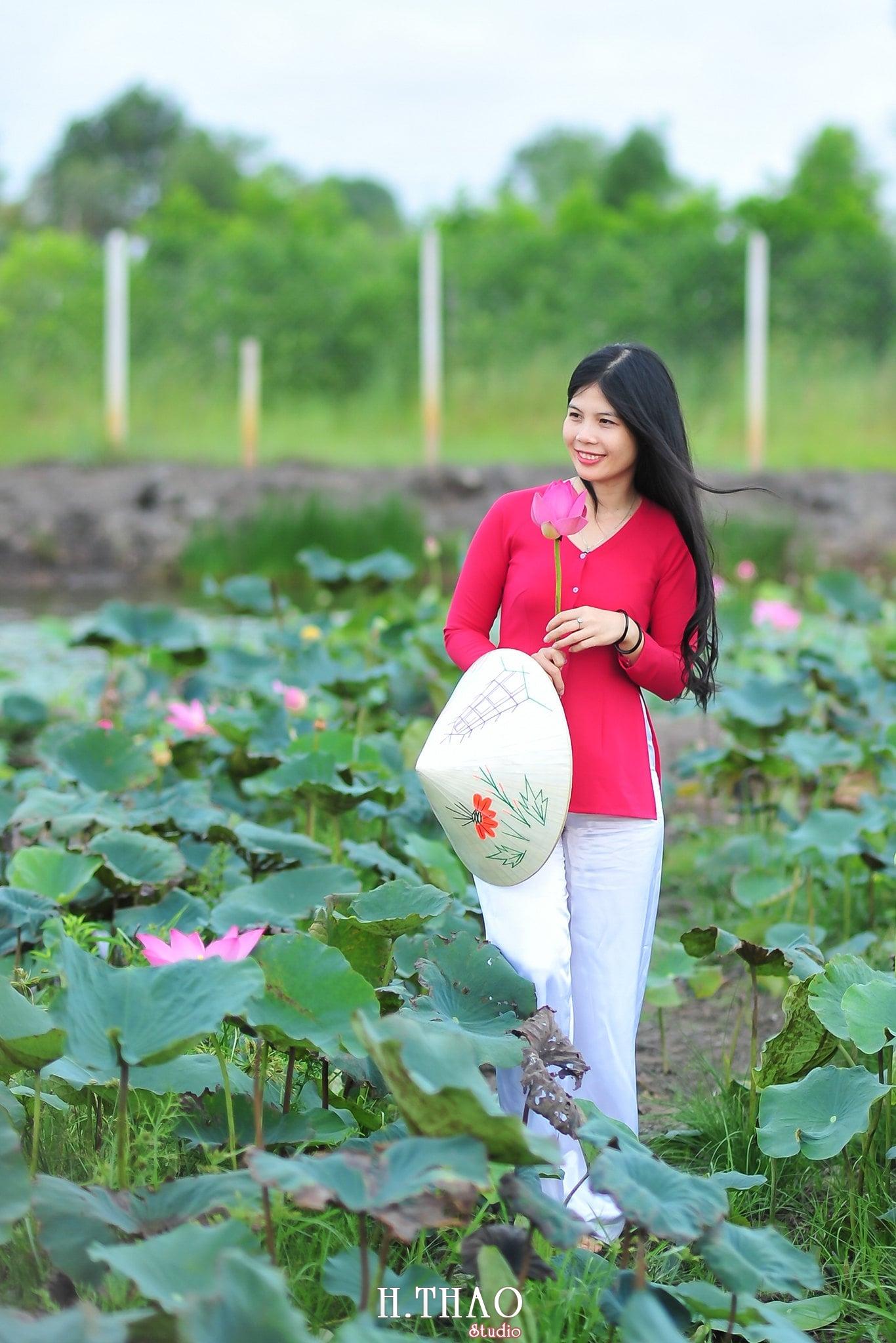 Hoa sen 2 - Tháng 6, chụp hình với hoa sen tại Tam đa quận 9 – Tp.HCM