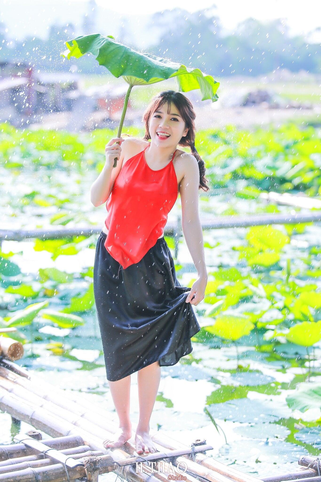 Hoa sen 7 - Tháng 6, chụp hình với hoa sen tại Tam đa quận 9 – Tp.HCM