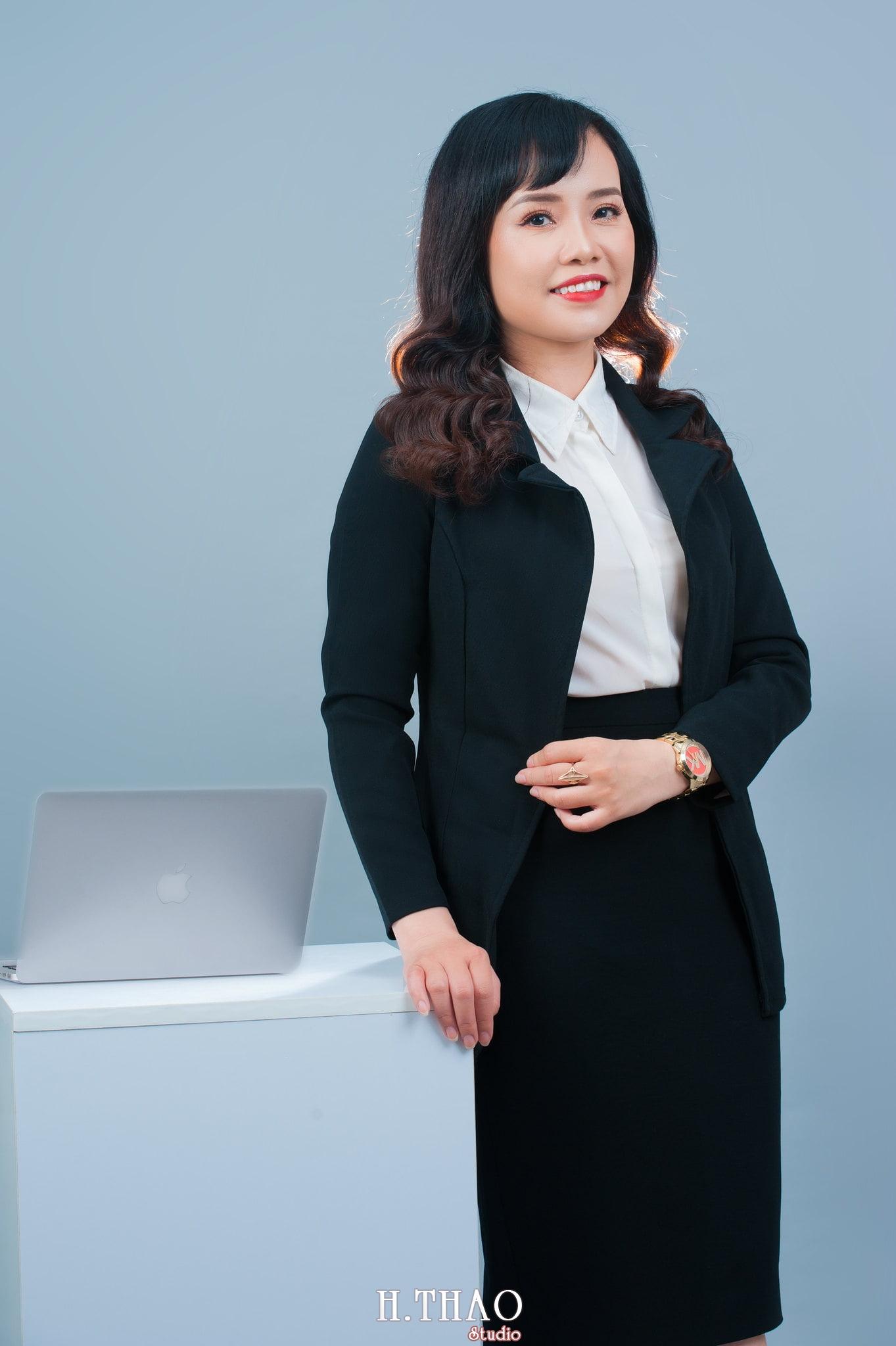 Thu Trang 1 - Chụp ảnh nữ doanh nhân Thu Trang tại HThao Studio – Tp.HCM