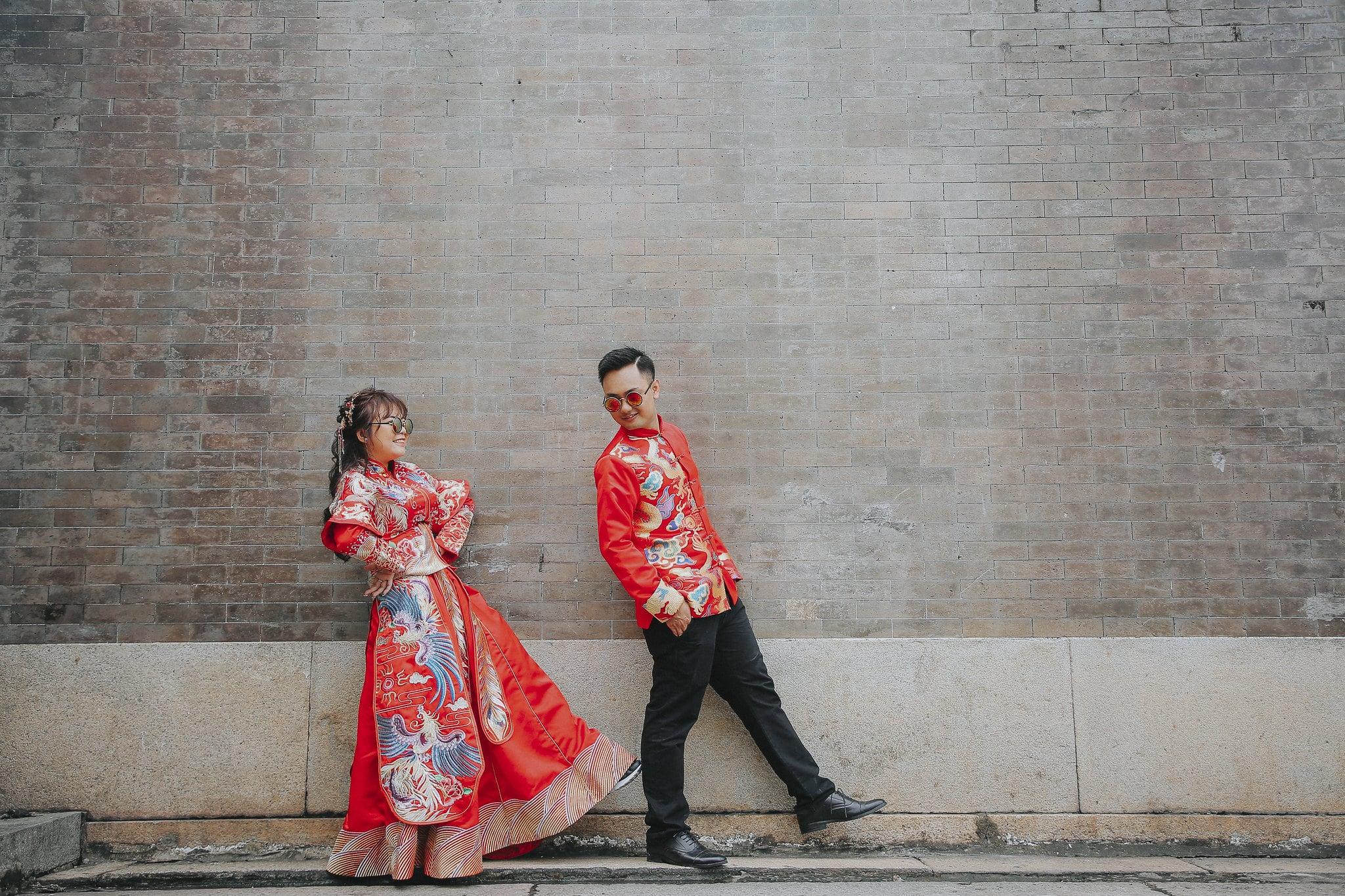 couple co trang 1 - Bộ ảnh couple cổ trang chụp tại chùa bà thiên hậu- HThao Studio