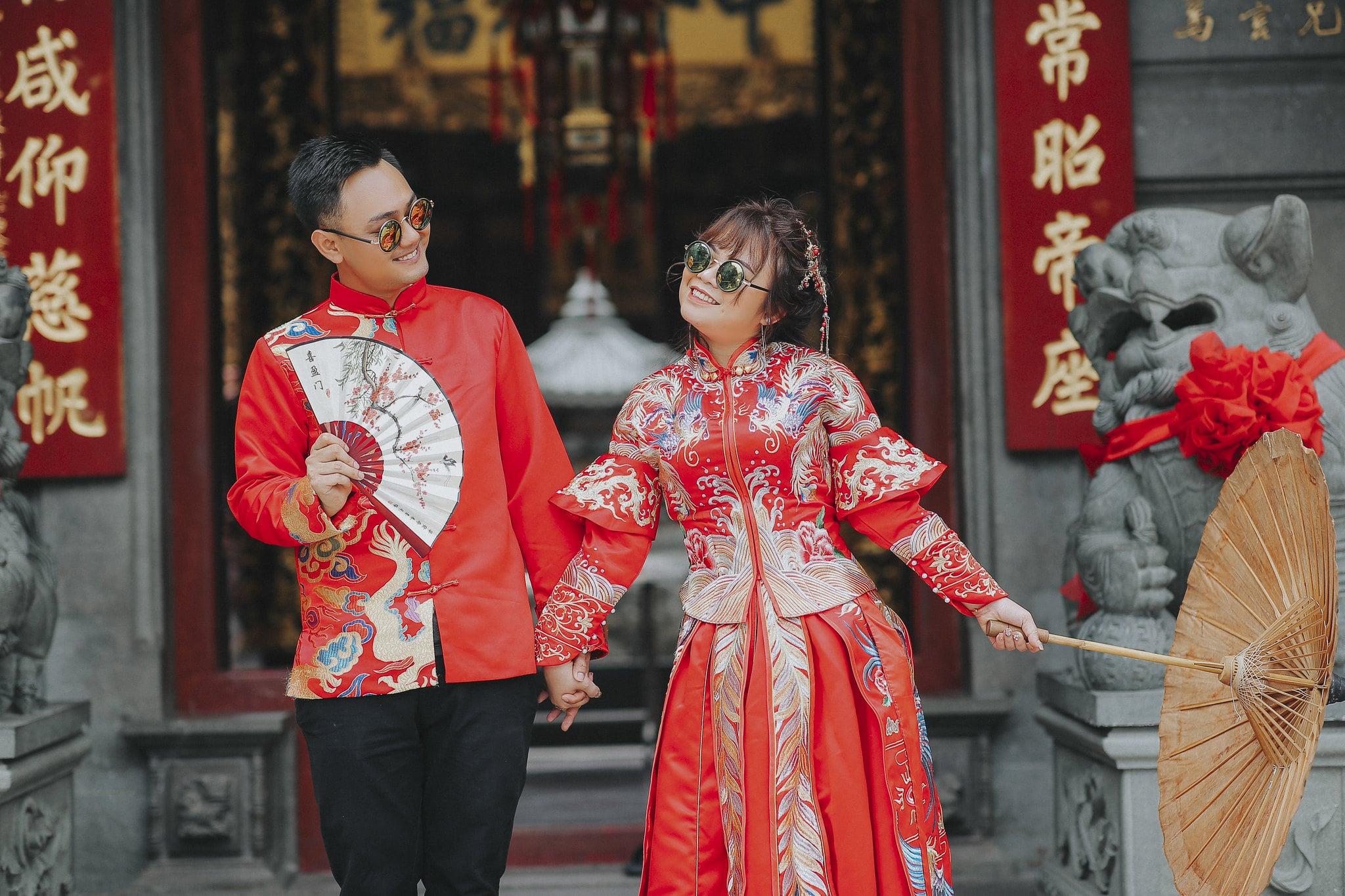 couple co trang 5 - Bộ ảnh couple cổ trang chụp tại chùa bà thiên hậu- HThao Studio