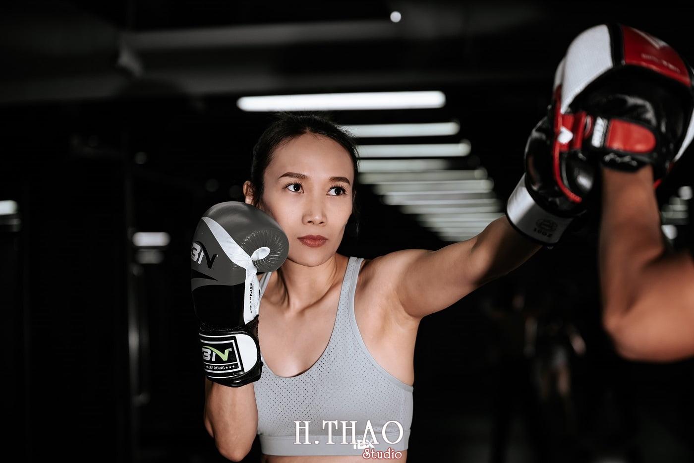 Anh chi Ngoc 32 min - Góc ảnh cô gái mạnh mẽ yêu thích Boxing – HThao Studio