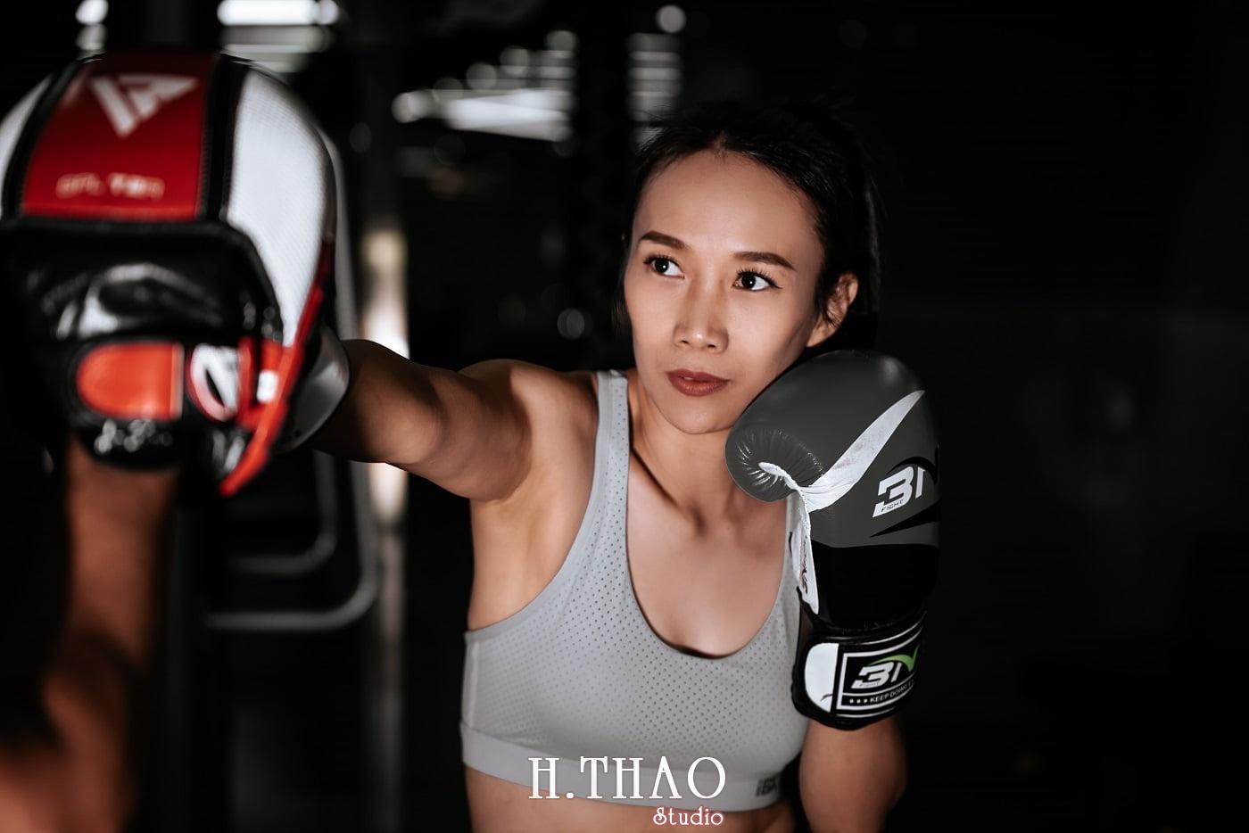 Anh chi Ngoc 33 min - Góc ảnh cô gái mạnh mẽ yêu thích Boxing – HThao Studio