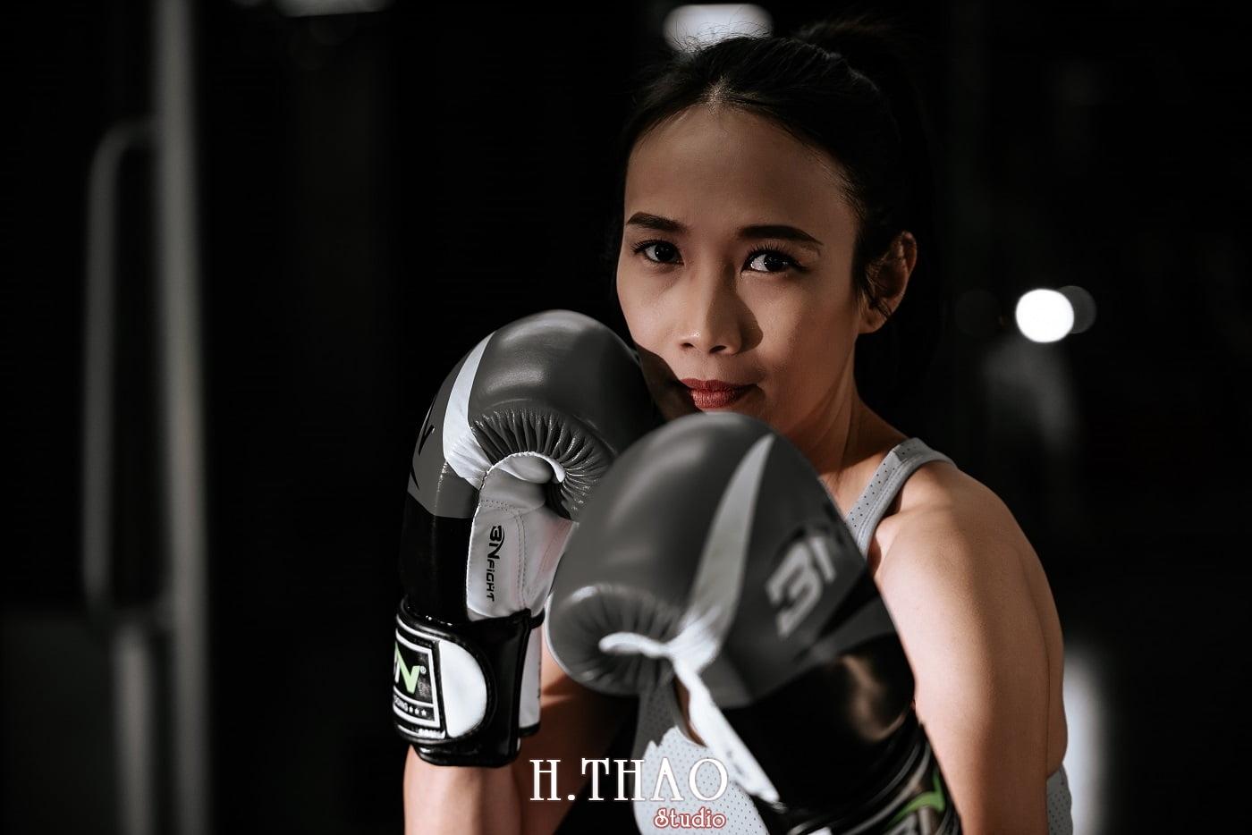Anh chi Ngoc 35 min - Góc ảnh cô gái mạnh mẽ yêu thích Boxing – HThao Studio
