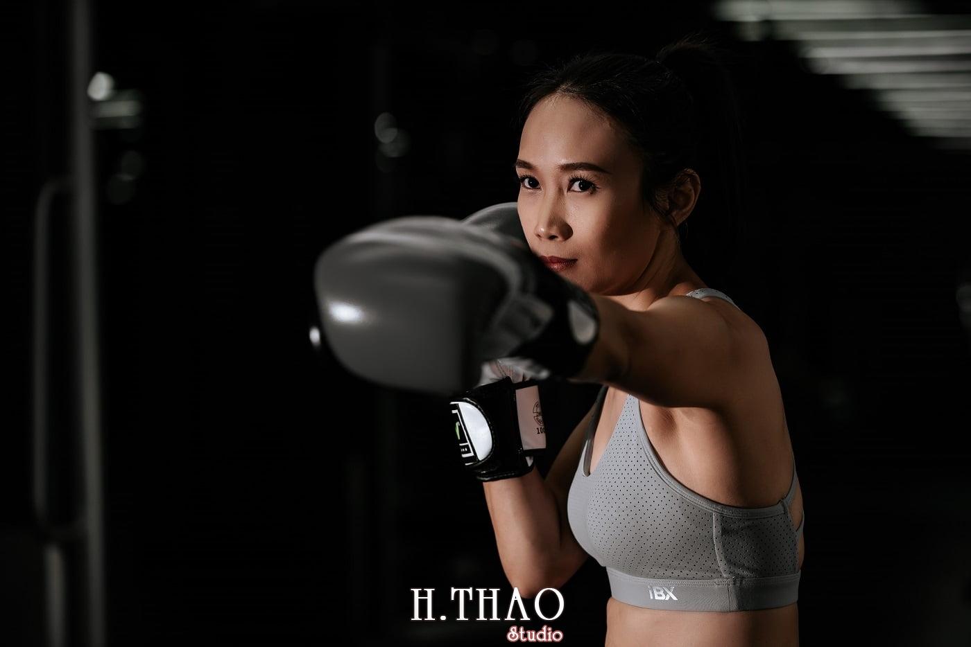 Anh chi Ngoc 36 min - Góc ảnh cô gái mạnh mẽ yêu thích Boxing – HThao Studio