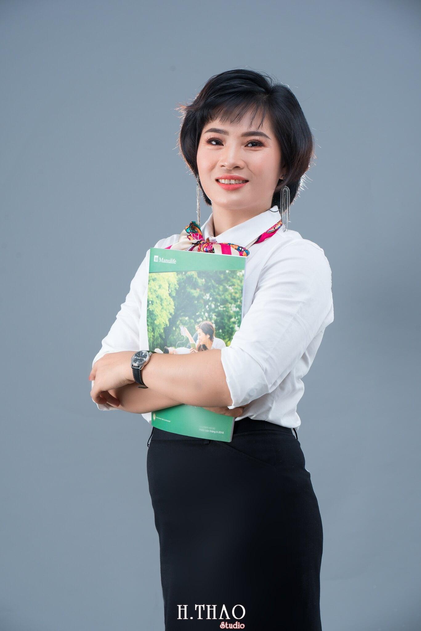 Anh profile dep - Album ảnh profile cá nhân chị Ny Manulife - HThao Studio