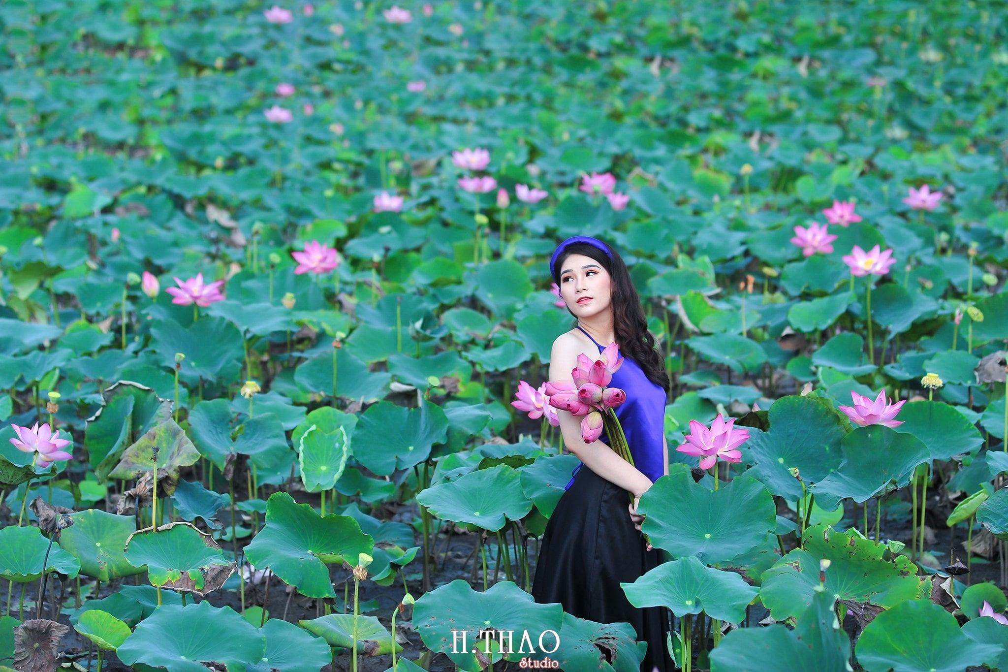 anh sen 9 - 39 cách tạo dáng chụp ảnh với hoa sen tuyệt đẹp - HThao Studio