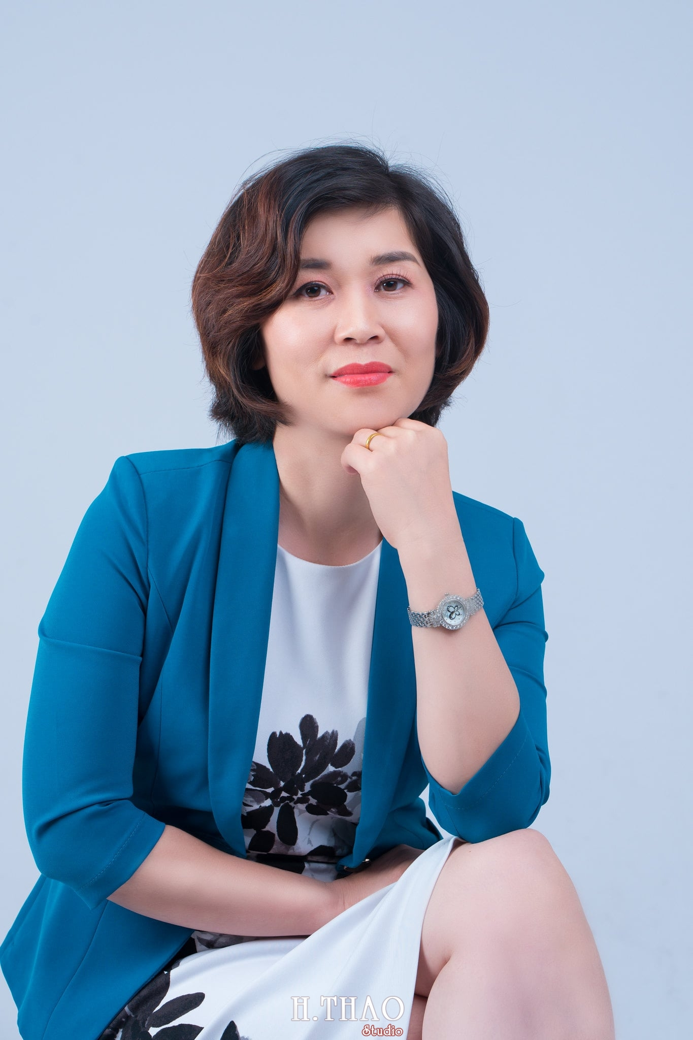 chan dung nu 9 - Album ảnh doanh nhân chị Quỳnh sang trọng, quý phái - HThao Studio
