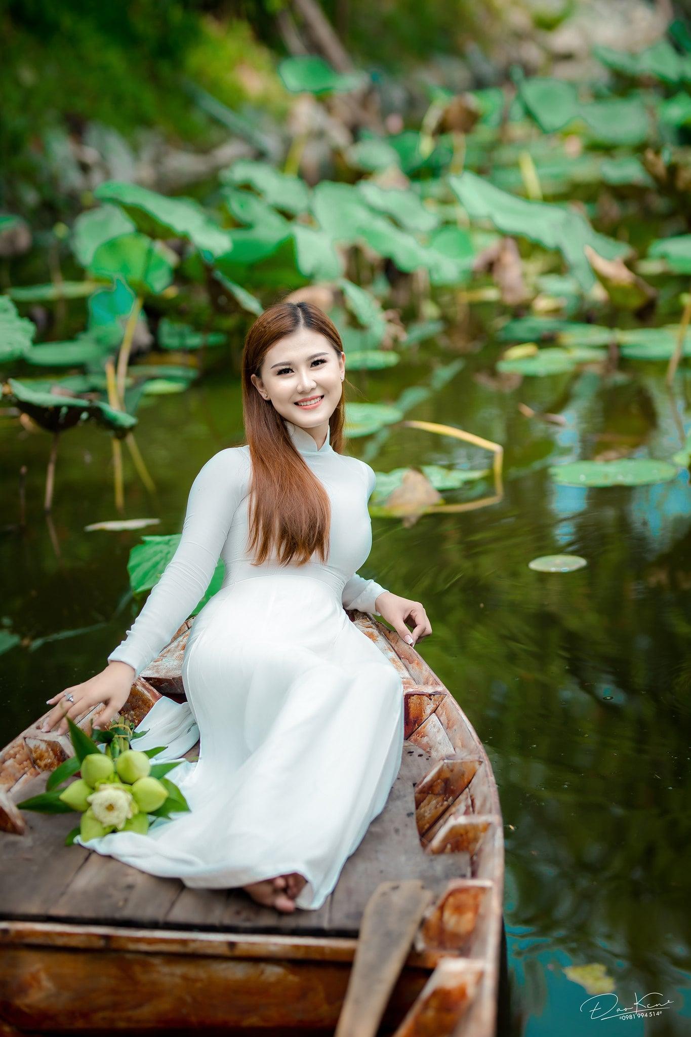Ha My ao dai 5 min - Báo giá chụp ảnh áo dài trọn gói tại Tp.HCM - HThao Studio