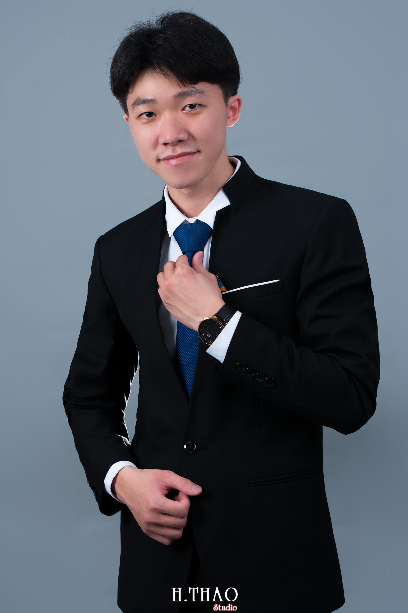 Thanh dat xanh 1 - Chụp ảnh profile nhân viên bất động sản Đất Xanh - HThao Studio