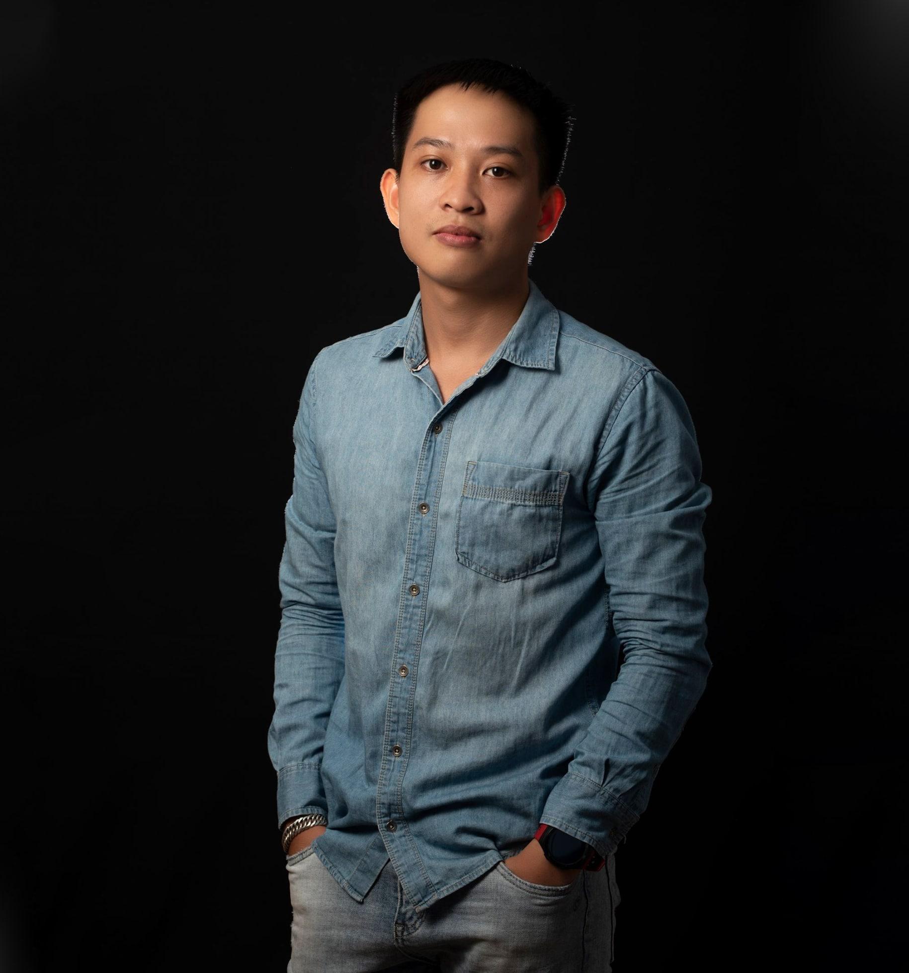 Tu hoang min - Cách chụp ảnh nghệ thuật cá tính cho nam & nữ - HThao Studio