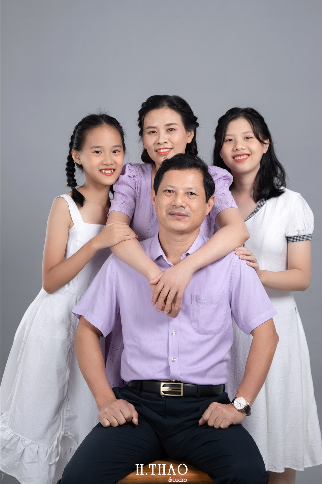 Anh Chuong Family 02 min - Studio chuyên chụp ảnh gia đình đẹp ở Tp.HCM- HThao Studio