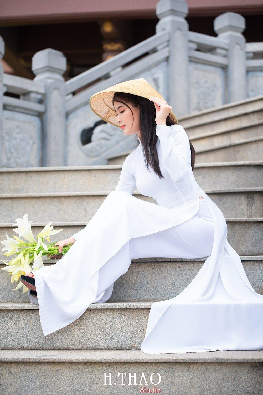 Ao dai hoa loa ken 11 2 - Địa điểm chụp ảnh áo dài đẹp ở Thành phố Hồ Chí Minh