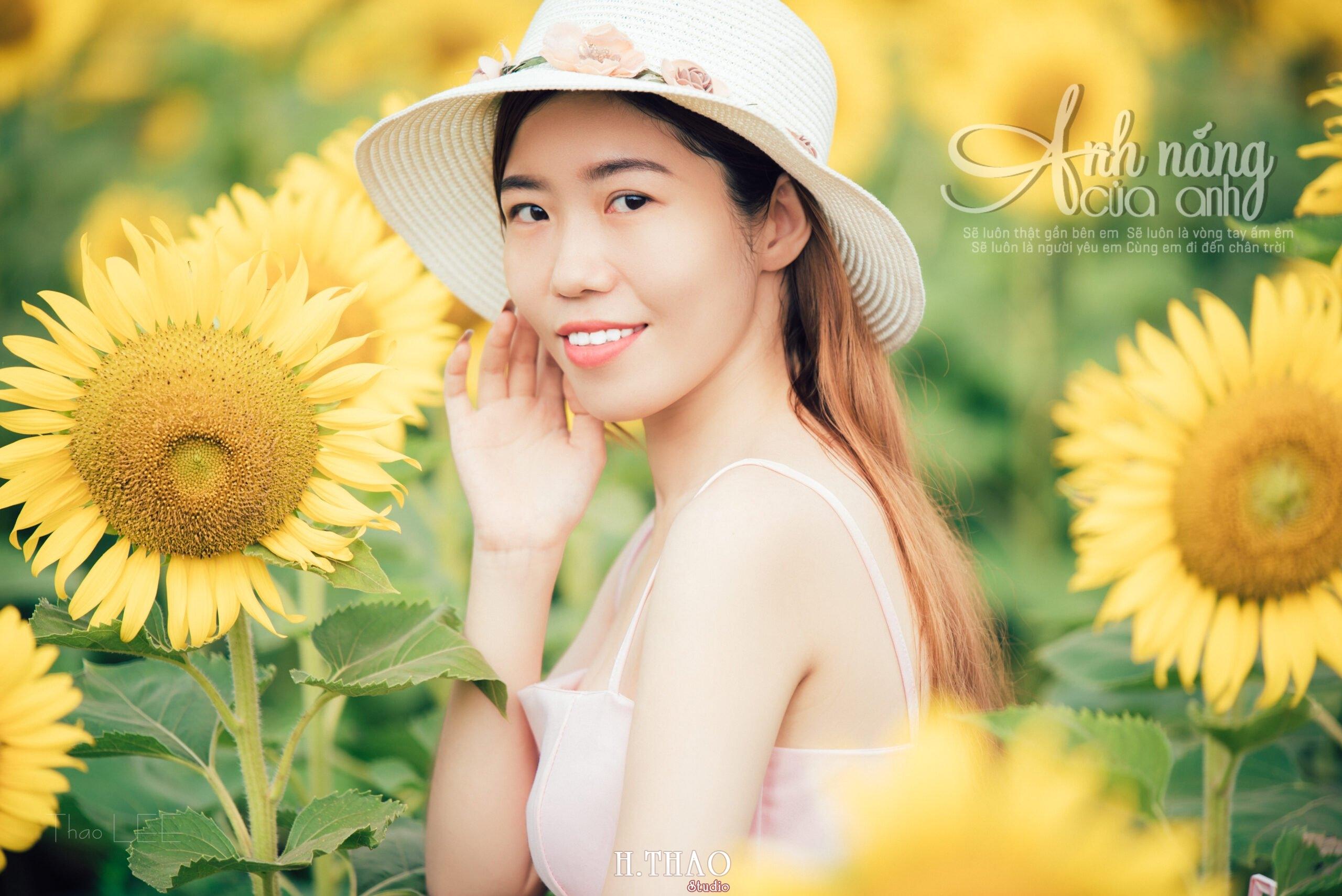 Anh be Mai 2 scaled - Chụp ảnh với hoa hướng dương tuyệt đẹp giữa lòng Sài Gòn