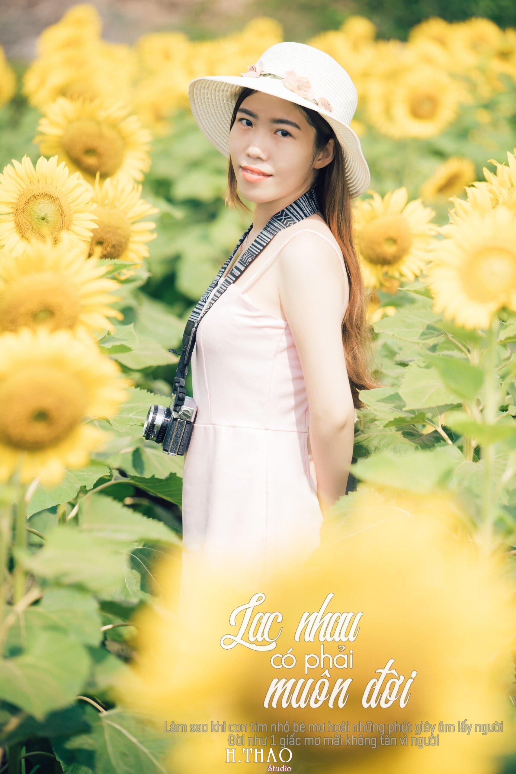Anh be Mai 8 scaled - Chụp ảnh với hoa hướng dương tuyệt đẹp giữa lòng Sài Gòn