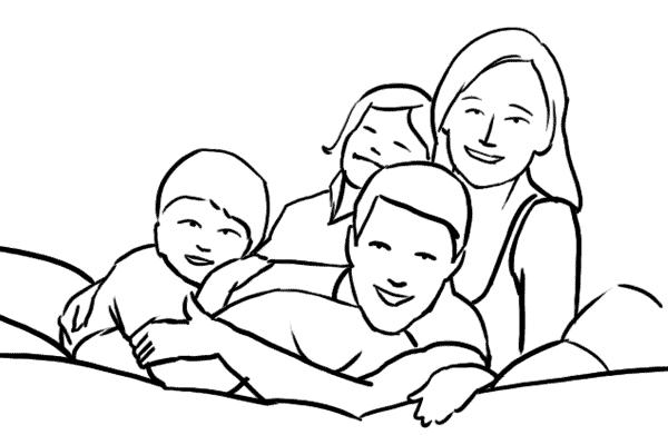 Family 16 - 19 cách tạo dáng chụp ảnh gia đình tự nhiên nhất - HThao Studio
