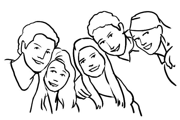 Family 5 - 19 cách tạo dáng chụp ảnh gia đình tự nhiên nhất - HThao Studio