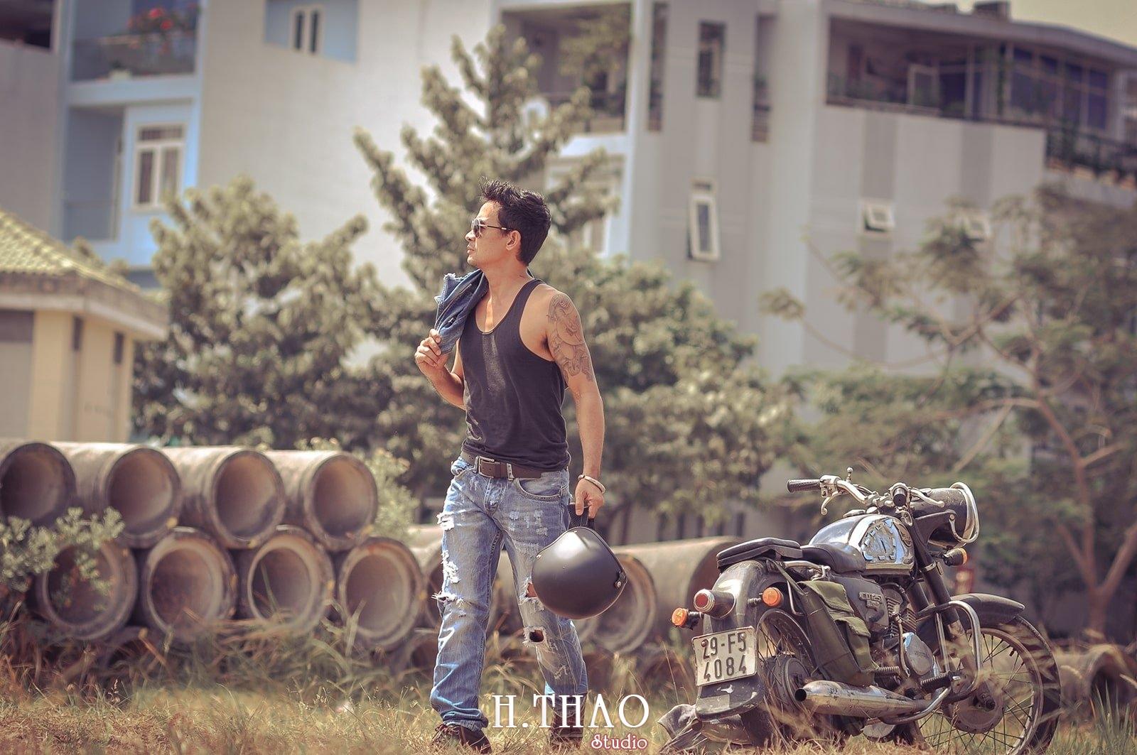 Anh nghe thuat ca tinh 13 - 35 cách tạo dáng chụp ảnh nam ngầu chất ngất - HThao Studio