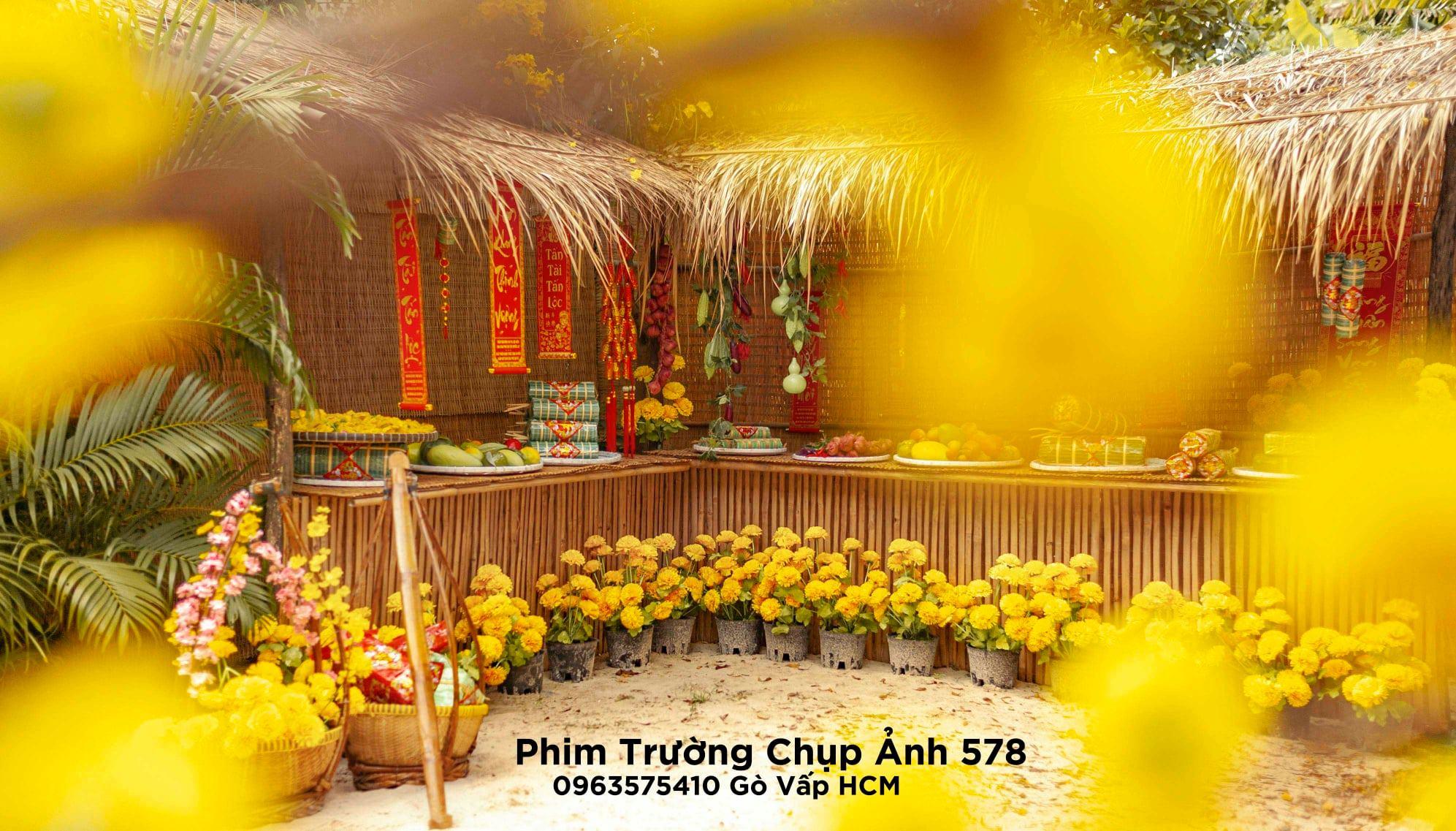 Phim truong 578 8 - Review phim trường 578, địa điểm chụp ảnh tết 2021 HOT tại Tp.HCM